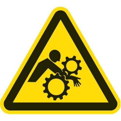 Schild Warnung vor ungewolltem Einzug, Kunststoff, 200 mm SL